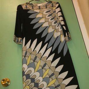 LIKE NEW! PUCCI INSPIRED DONNA MORGAN DRESS